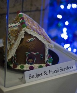 Truth is stranger than fiction. The gingerbread house built by the Budget and Fiscal Services department of Honolulu collapsed. What a symbol of 2008. Image courtesy Quasic at Flickr
