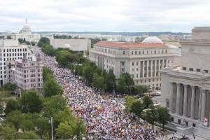 DC Tea Party protest