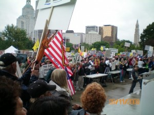Hartford Tea Party Crowd 2