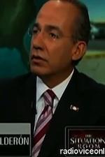 Mexican Pres Filipe Calderon top