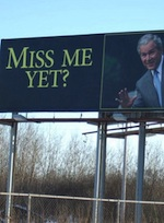 Bush miss me yet top