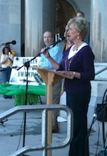 Linda McMahon at Rally