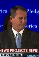 Boehner victory speech