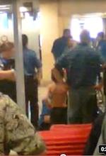 Young boy TSA