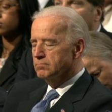 Biden sleeping