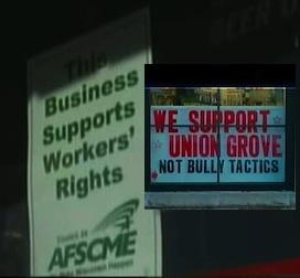 WI union boycott