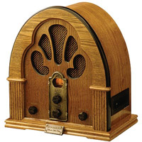 square-old-radio
