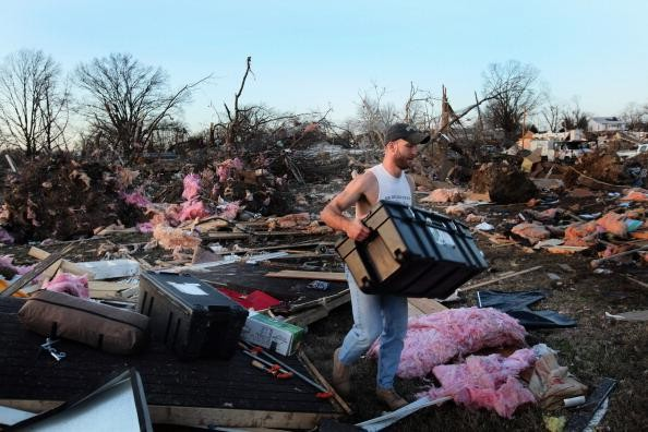 Series Of Tornadoes Touch Down Throughout Midwest
